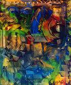 Oil Painting — Zdjęcie stockowe