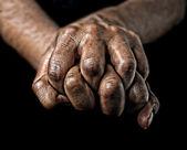 Hands of a woman — Zdjęcie stockowe