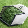 Lawn mower basket — Stock Photo