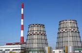 производство электроэнергии — Стоковое фото