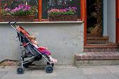 Esperando a mamãe — Foto Stock