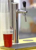 Pivní kohoutek — Stock fotografie