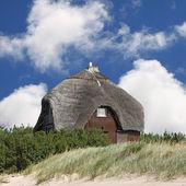 Sommerhaus am strand — Stockfoto