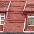 Stock Photo: Roof windows