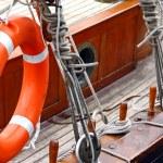 Vessel deck — Stock Photo