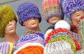 Handgemaakte hoeden — Stockfoto