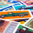 Postage stamps — Stock Photo