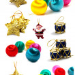 Christmas and New Year set - Stock Photo
