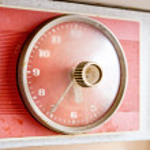 The old kitchen clock. — Stock Photo #4824047