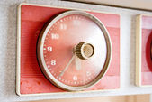 The old kitchen clock. — Stock Photo