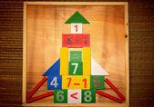 Mathematics house — Stock Photo
