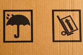 Znaki ostrzegawcze — Zdjęcie stockowe