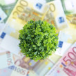Green money — Stock Photo #4044858