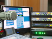 Radiostation — Stockfoto