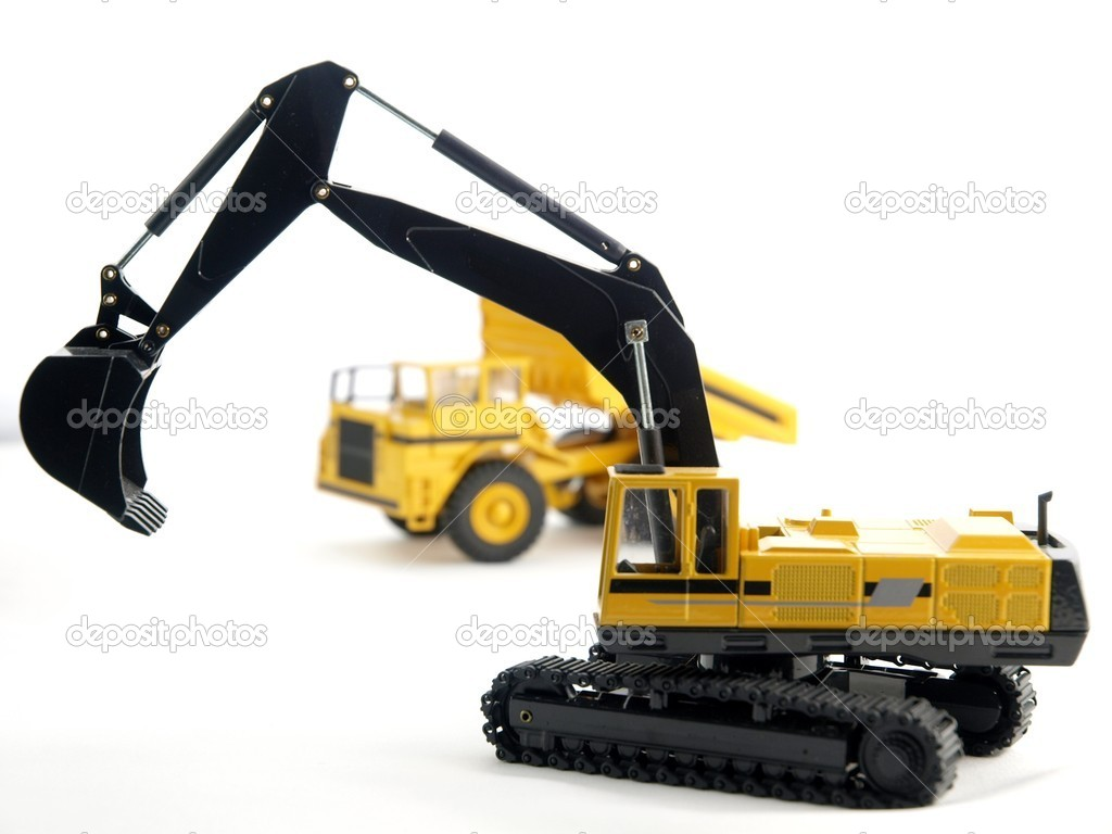 Excavator  Stock Photo #4331275