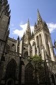 Cathedral of Quimper — Stock Photo