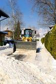 Snowplow — Stock Photo