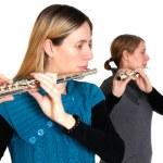 Transverse flute — Stock Photo #4777645