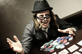 Poker winner — Stock Photo