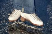 Ice skating shoe — Stock Photo