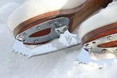 Buz paten ayakkabı — Stok fotoğraf