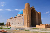 Mausoleum of Khoja Ahmed Yasavi in Turkestan, Kazakhstan — Stock Photo