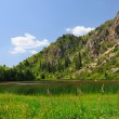 Stock Photo: Sary-Chelek Lake