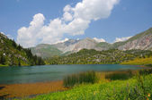 Colorful Sary-Chelek Lake — Stock Photo