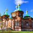 Holy Trinity Cathedral in Karakol — Stock Photo #4265356