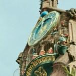 Church of Our Lady Nuremberg clock, clockwork — Stock Photo