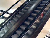 The escalator in the big centre — Stock Photo