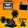 Stock Vector: Film Industry