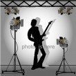Stock Vector: Photo session