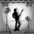 Photo session — Stock Vector