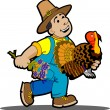 Royalty-Free Stock Imagem Vetorial: Thanksgiving
