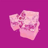 アイス キューブ — ストックベクタ