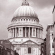 St Pauls Cathedral Church, London - Stock Photo