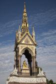 Albert Memorial in Hyde Park, London — Stock Photo