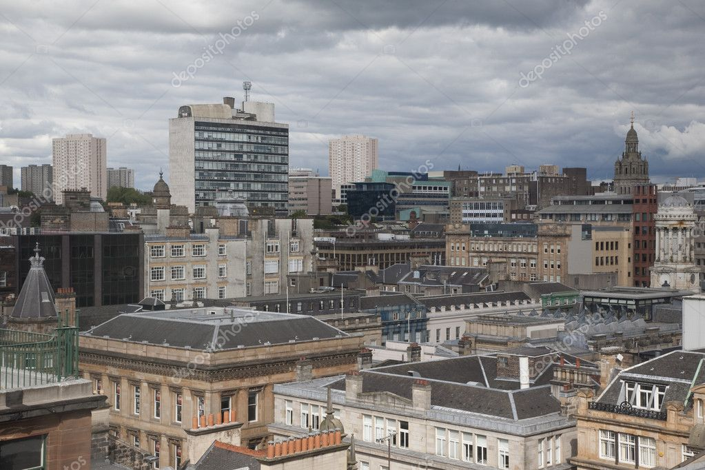 View of Glasgow Cityscape — Stock Photo #3989317