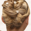 Stock Photo: Wedding Hair