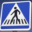 Pedestrian Crossing Sign — Stock Photo #4001776