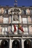Plaza mayor, madryt, hiszpania — Zdjęcie stockowe