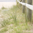 Beach Fence — Stock Photo