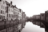 Canals of Bruges — Stock Photo