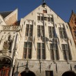 Typical Facades in Bruges — Stock Photo
