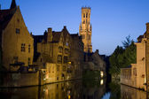 Belfry in Bruges — Stock Photo