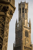 Belfry, Bruges — Stock Photo