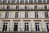 Typical Facade in Paris — Stok fotoğraf