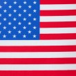 United States of AmericFlag — Stockfoto #4247745