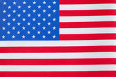 The United States of America Flag — Stock Photo